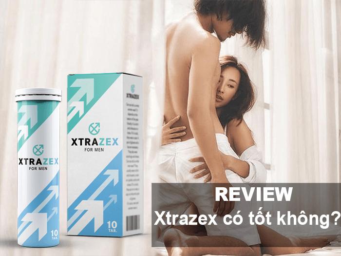 Thuốc tăng sinh lý Xtrazex có tốt không Lừa đảo, Giá, Mua ở đâu