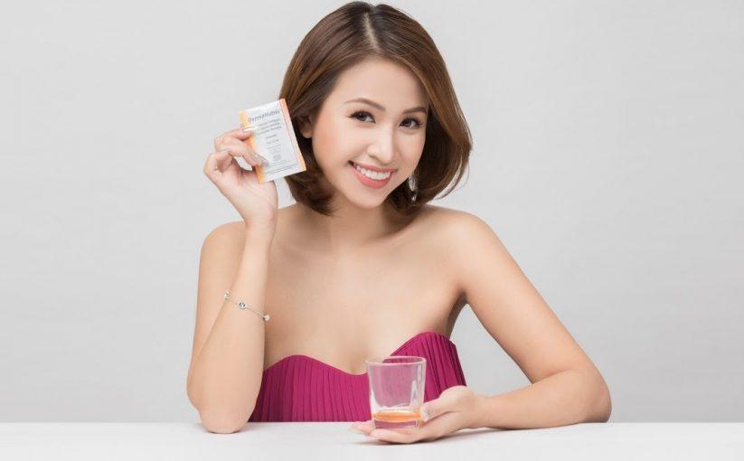 Gel uống Collagen DermaNutrix có tốt không Giá bao nhiêu, nguồn gốc, xuất xứ