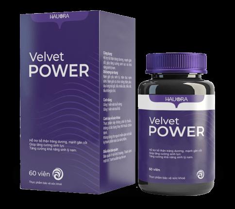 Velvet Power - thuốc cường dương, tăng sinh lý tốt nhất đã được kiểm chứng