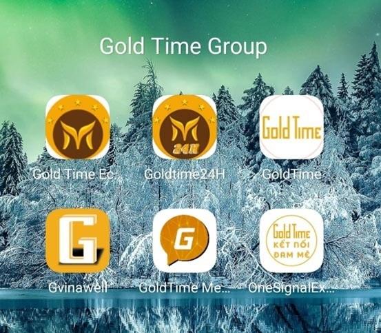 Gold Time Coffee có lừa đảo không Mạng xã hội Goldtime GVinaWell App