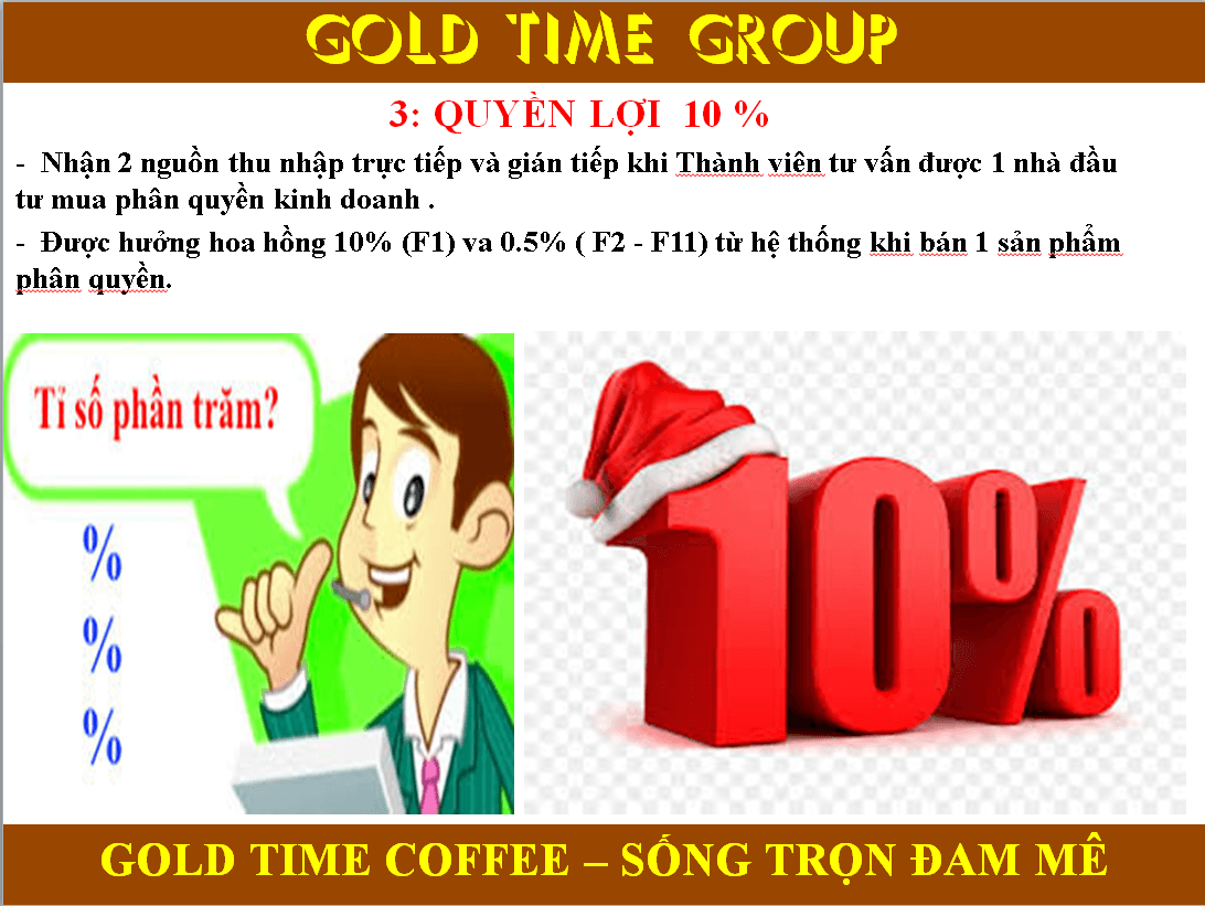 Gold Time Coffee la gì Gold time coffee đa cấp lừa đảo 1