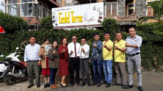 Gold time coffee bán hàng đa cấp lừa đảo