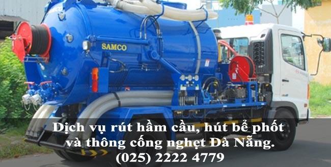 Dịch vụ rút hầm cầu, hút bể phốt và thông cống nghẹt giá rẻ tại TP Đà Nẵng 3