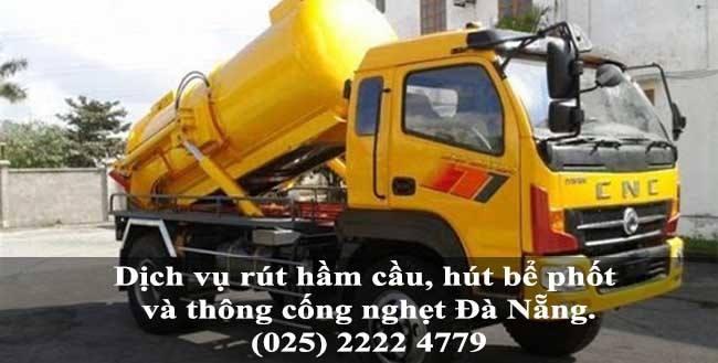 Dịch vụ rút hầm cầu, hút bể phốt và thông cống nghẹt giá rẻ tại TP Đà Nẵng 4