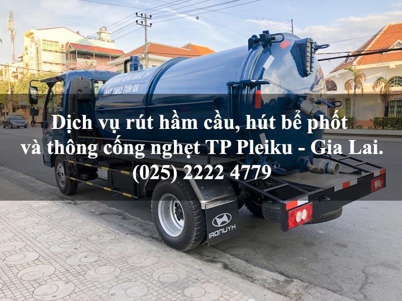 Dịch vụ rút hầm cầu, hút bể phốt và thông cống nghẹt giá rẻ tại TP Pleiku - Gia Lai 4