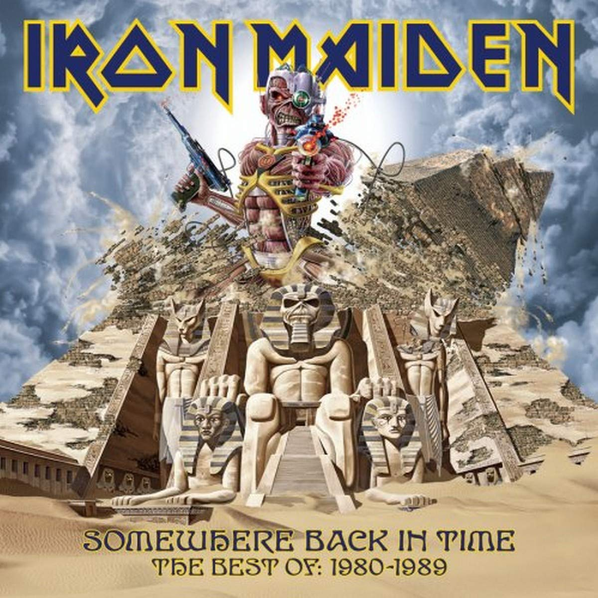 Iron Maiden - Somewhere Back In Time - The Best Of 1980-1989 by Iron Maiden