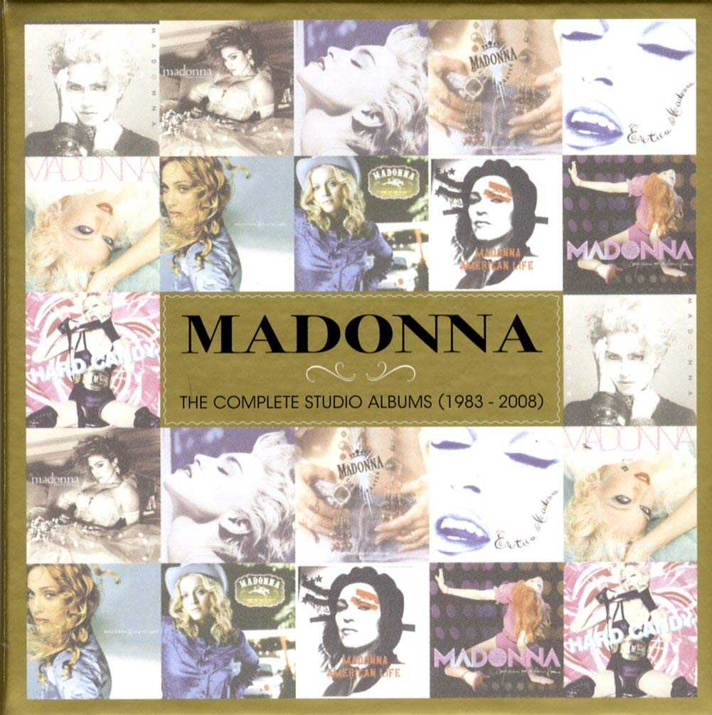 Madonna - The Complete Studio Albums 1983 - 2008 by Madonna