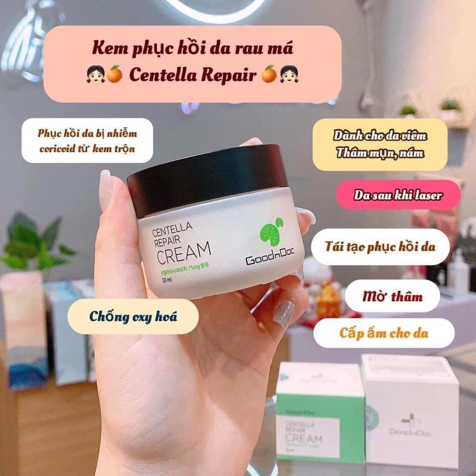 [REVIEW] Thành Phần, Giá, Công Dụng Kem Dưỡng Da Goodndoc Centella Repair Cream Có Tốt Không, Mua Ở Đâu? 1