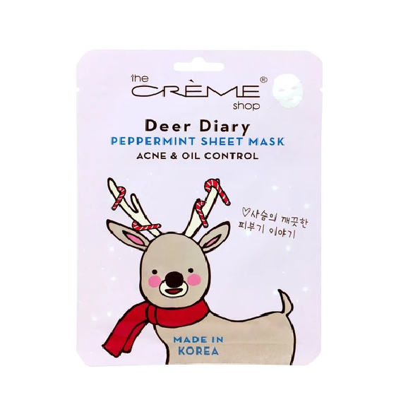 mat-na-the-creme-shop-deer-diary-peppermint-sheet-mask-review-thanh-phan-gia-cong-dung