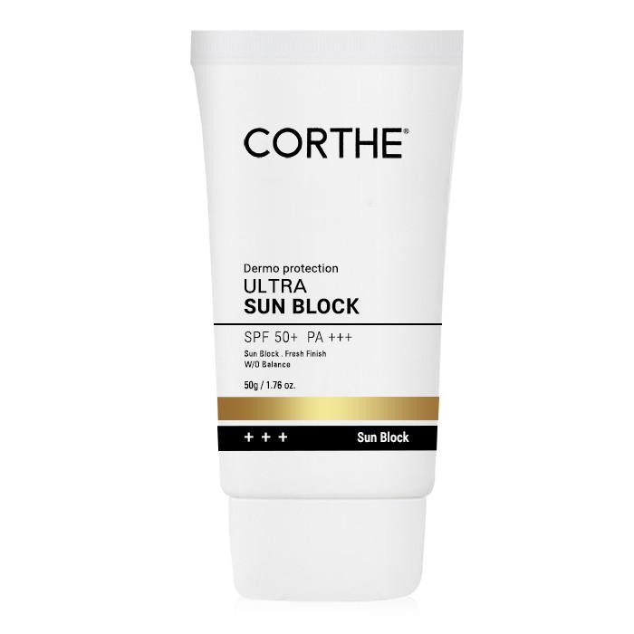 kem-chong-nang-corthe-dermo-protection-ultra-sun-block-spf50-pa-review-thanh-phan-gia-cong-dung