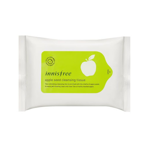 khan-giay-tay-trang-innisfree-apple-seed-cleansing-tissue-review-thanh-phan-gia-cong-dung
