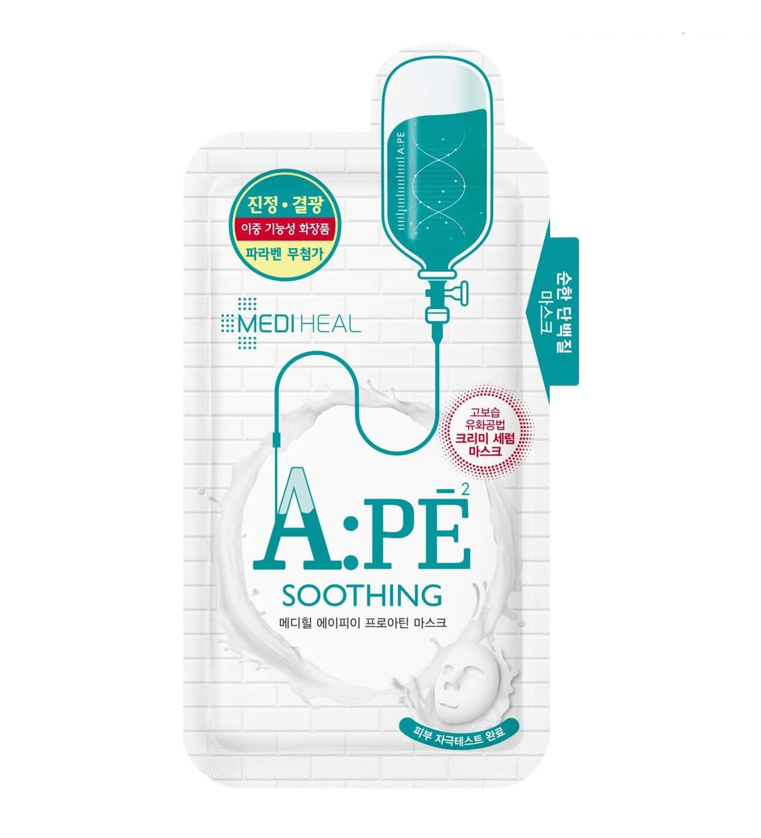 mat-na-mediheal-a-pe-soothing-mask-review-thanh-phan-gia-cong-dung-46