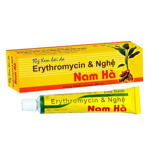 kem-boi-da-nam-ha-erythromycin-nghe-review-thanh-phan-gia-cong-dung