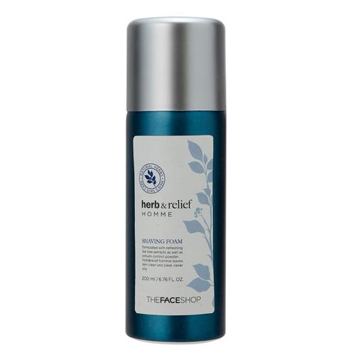 sua-rua-mat-the-face-shop-herb-relief-homme-shaving-foam-review-thanh-phan-gia-cong-dung